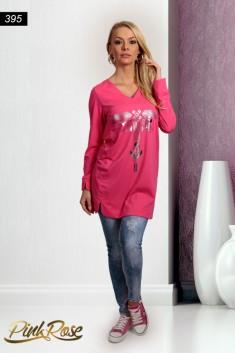 72ea680545 1015. Tunika cikkszámú PINK ROSE Tunikák, miniruhák, ruhák 3990 Ft ...