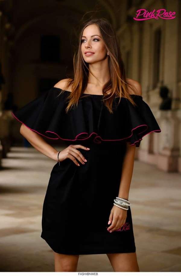 9234865cc0 Ruha cikkszámú PINK ROSE Tunikák, miniruhák, ruhák 4500 Ft (€16) Ft-ért -  Full Fashion Webshop & Outlet