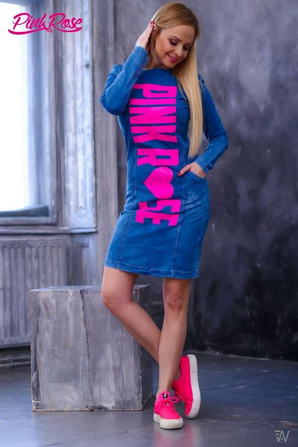 2ce0a46064 Ruha cikkszámú PINK ROSE Tunikák, miniruhák, ruhák 12990 Ft (€46) Ft-ért -  Full Fashion Webshop & Outlet